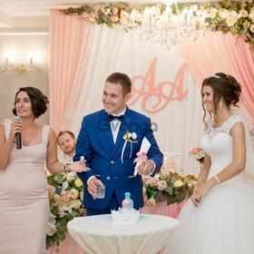 Выездная свадебная регистрация.Ведущая церемонии