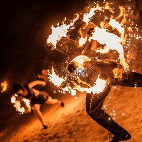 Огненное шоу на мероприятие
