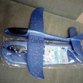 Летающий самолет из пенопласта, самолет игрушка