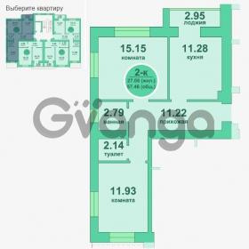 Продается квартира 2-ком 57 м² Потемкина