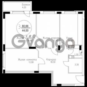 Продается квартира 3-ком 81 м² Елизаветинская 48