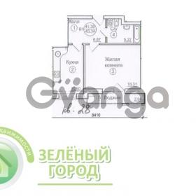 Продается квартира 1-ком 40 м² проспект Победы