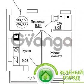 Продается квартира 1-ком 34 м² Ульяны Громовой