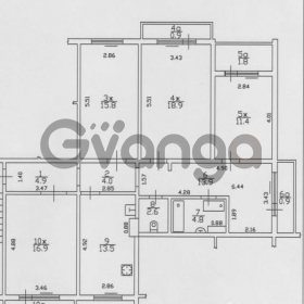 Продается квартира 4-ком 111 м² Сиреневый