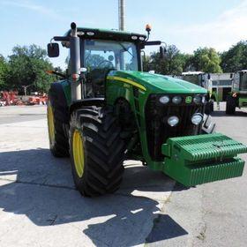 Трактор колесный John Deere 8345 R    2010 г.в.,