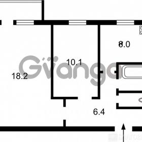 Продается квартира 2-ком 46 м² Науки пр-т 24