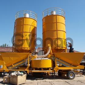 Мобильный бетонный завод М-2200