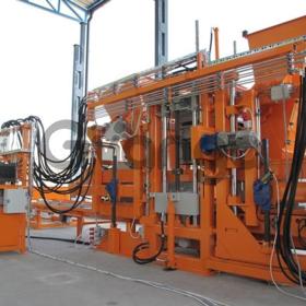 Вибропресс для производства тротуарной плитки, бордюров U-1000, U-1500