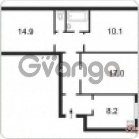 Продается квартира 3-ком 65 м² ул. Харьковское шоссе, 168б, метро Вырлица