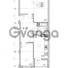 Продается квартира 3-ком 82 м² Невского