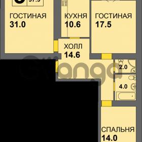 Продается квартира 3-ком 97 м² Дадаева