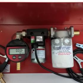 Мини-колонка 12 Вольт 40л/мин для перекачки дизтоплива, Ecokit Adam Pumps(Италия).Гарантия