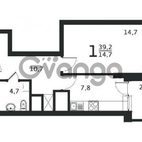 Продается квартира 1-ком 36 м² антонова ул.,5