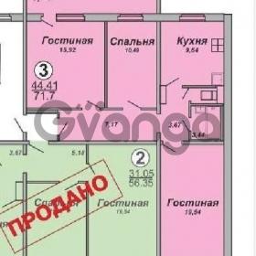 Продается квартира 3-ком 71 м² 65-летия победы ул.,9