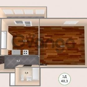 Продается квартира 1-ком 40 м² антонова ул.,2