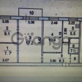Продается квартира 4-ком 63 м² ул. 25 Января, 22