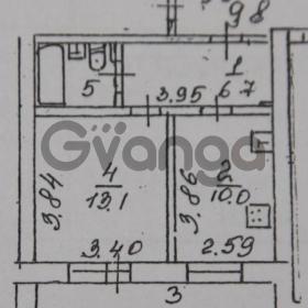 Продается квартира 1-ком 36 м² Фасадная,д.12