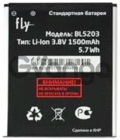 Fly IQ442Q (BL5203) 1500mAh Li-ion