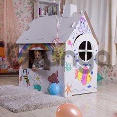 Детский игровой домик-сохраните обои в доме!