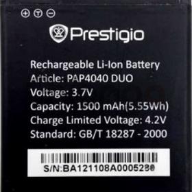 Prestigio (PAP4040DUO) 1500mAh Li-ion