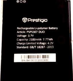 Prestigio 5307 (PSP5307Duo) 2100mAh Li-polymer