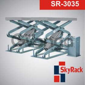 Автомобильный ножничный электрогидравлический подъемник SR-3035