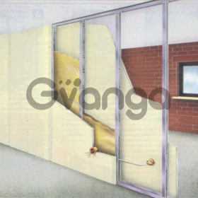 Обшивка стен и потолка гипсокартоном, монтаж гипсокартона.