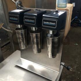 Продам миксер трех постовой Hamilton beach 1G950 для молочных коктейлей бу