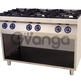 Новая по цене Б/У плита профессиональная газовая Kogast PS-T67P 6 конфорок