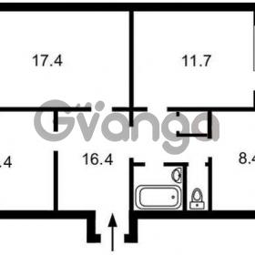 Продается квартира 3-ком 74 м² Ивана Лепсе ул., д. 36и