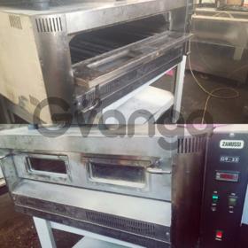 Продам газовую печь для пиццы Zanussi G9/33S бу