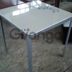 Столы со стеклянной столешницей бу