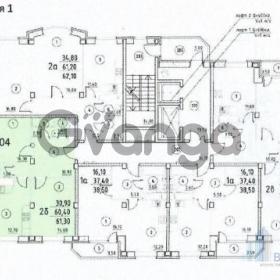 Продается квартира 2-ком 61.3 м² ул. Заречная, 7