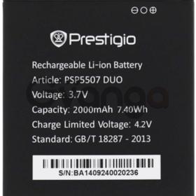 Prestigio 5507 (PSP5507duo) 2000mAh Li-ion