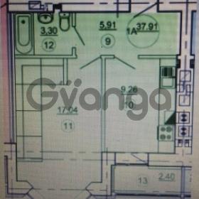 Продается квартира 1-ком 37 м² Подлесная