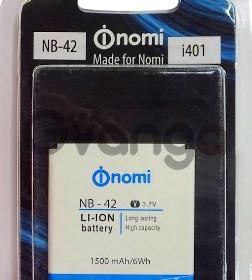 Nomi i401 (NB-42) 1500mAh Li-ion