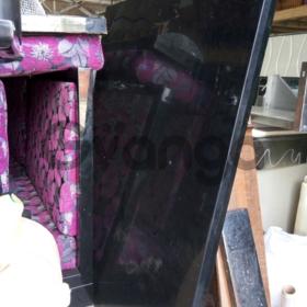 Черный лакированный стол бу