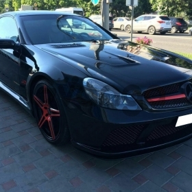 Mercedes-Benz SL-klasse AMG 55 AMG 5.4 AT (500 л.с.) 2005 г.