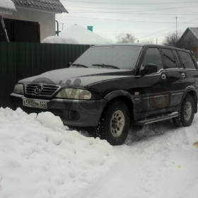 Ssang Yong Musso 2.3d AT (101 л.с.) 4WD 2004 г.