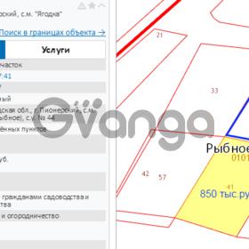 Продается участок 4.99 сот Ольховая, садоводство Ягодка
