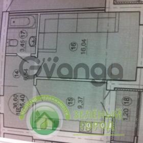 Продается квартира 1-ком 37 м² Гагарина