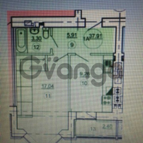 Продается квартира 1-ком 39 м² Московская -Подлесная д 6