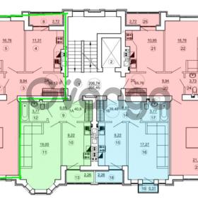 Продается квартира 2-ком 66 м² Московская -Подлесная д 2