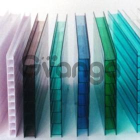 Поликарбонат цветной и прозрачный