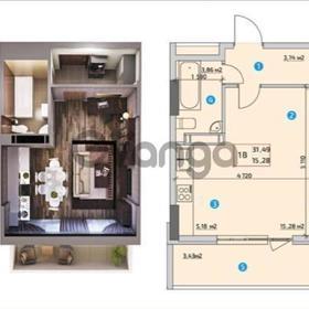 Продается квартира 1-ком 31 м² Драйзера Теодора ул., д. 40
