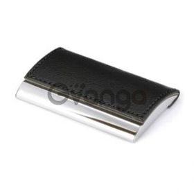Визитница металл/полиуретан (артикул V2646)