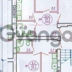 Продается квартира 1-ком 23 м² Южная 4