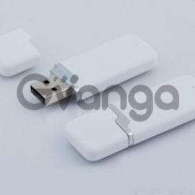 USB флешка белая пластиковая 8Gb (артикул 2359)