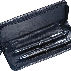 Ручка металлическая в футляре, чёрная (артикул 11734-30)