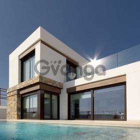 Недвижимость в Испании, Новая вилла рядом с гольф полем от застройщика в Альгорфа,Коста Бланка,Испания